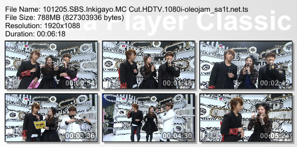 101205.SBS.Inkigayo.MC
