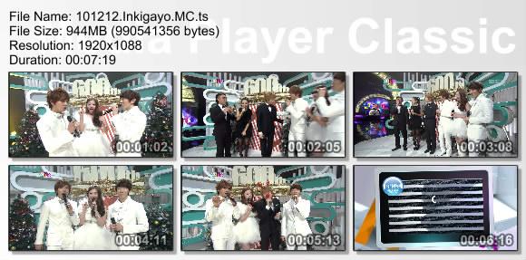 101212.Inkigayo.MC